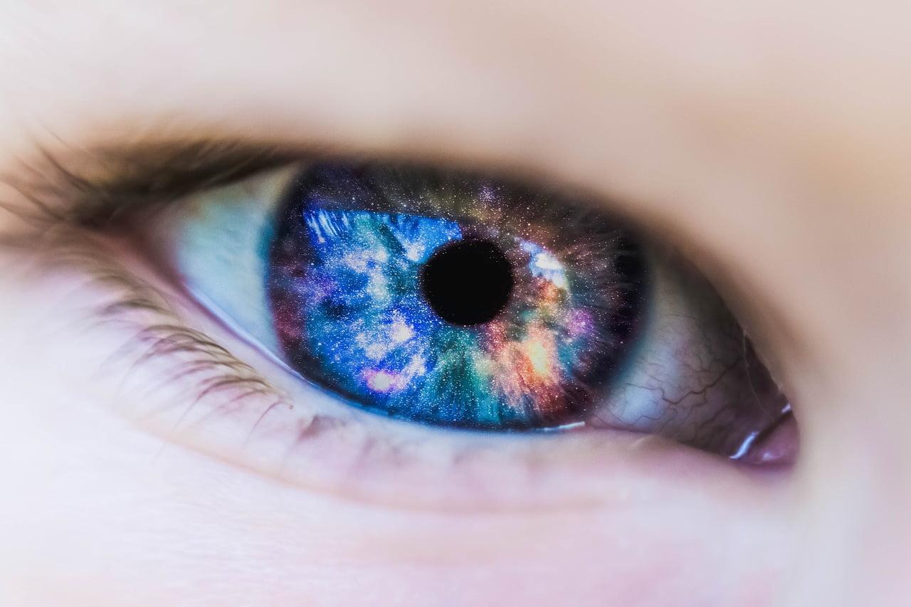 plavo oko